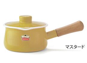 富士ホーロー,ホーロー鍋,琺瑯鍋,ミルクパン,フタ付き,片手鍋,15cm,ソリッド,solid,限定色