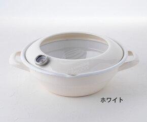 天ぷら鍋,TP-24.W,ホワイト