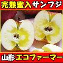 年末ギフト対応中!完熟りんごは濃厚なおいしさ!山形太田農園蜜入りサンフジ3kg家庭6〜12玉 りんご リンゴ りんご 蜜…