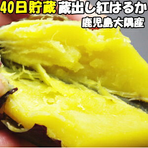 さつまいも 紅はるか 送料無料 甘さ際立つ40日貯蔵 ホクホク サツマイモ 鹿児島 ねじめ農園 蔵出し べにはるか 5kg L〜Sサイズ 混合 訳あり さつま芋