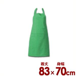 アイメッシュ エプロン 首かけ E5200-22 ライム/通気性 耐久性 撥水性 抗菌 清潔 衛生 004665002