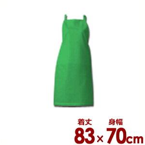 アイメッシュ エプロン たすき掛け E5200-22T ライム/通気性 耐久性 撥水性 抗菌 清潔 衛生 004666002