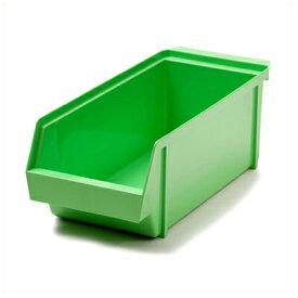 MTオーガナイザーボックス グリーン カトラリー収納ボックス 単品/カトラリー収納(箸 フォーク スプーン ナイフ) 入れ物 容器 収納 ケース