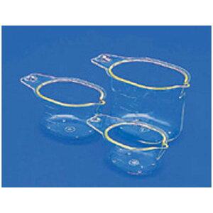 蝶プラ 計量カップ 3個セット(50・100・200ml)/料理 お菓子 水 粉 液体 計測 はかり シンプル 009241001