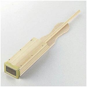 木製天突き(ところてん押出し) 真鍮刃/真夏のデザート トコロテン作り 押出し器 てんつき 019273001