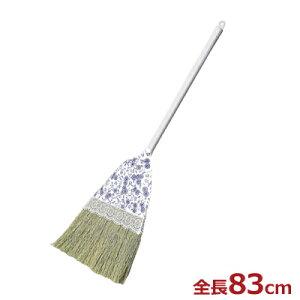 TRMM 座敷ホーキII 短柄 83cm 和式ほうき/畳・じゅうたん用ほうき 天然草毛 030208001