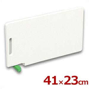 住友 スーパー耐熱まな板 緑 カラースタンド付き 41×23cm WKLOS グリーン/プラスチックまな板 熱湯消毒可 衛生管理 《メーカー取寄/返品不可》 031544008
