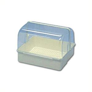 フードケース メロディー 34型 白 プラスチック製 33.6×28.8cm×高さ24.8cm/容器 入れ物 カバー付き フタ付き 保存 保管 食器 コップ 調味料 034003001