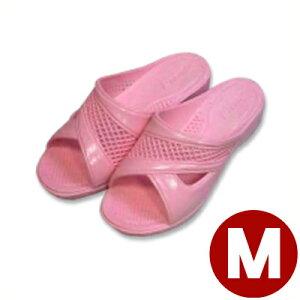 520-65 婦人フィッティングサンダル ピンク M/レディース スリッパ トイレ 水場 041206005