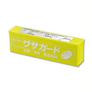 抗菌消臭剤 業務用冷蔵庫用 スーパーワサガード ワサビエキス配合/置型 鮮度維持 衛生管理 044163001