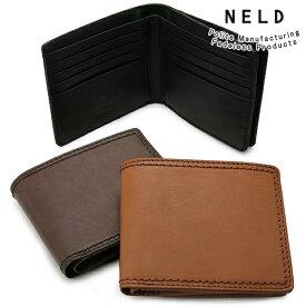 b06d8d11e87e NELD FINE ネルド ファイン BOX型ミドル財布( おしゃれ ブランド メンズ 財布 父の日