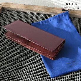 13fdea97d594 NELD CORDOVAN ネルド コードバン 長財布( おしゃれ ブランド メンズ 財布 父の日 レディース