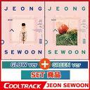 【予約9/1】【初回ポスター2枚】JEONG SEWOON(ジョン・せウン) - 『EVER』1ST MINI ALBUM/+GLOW VER +GREEN V...