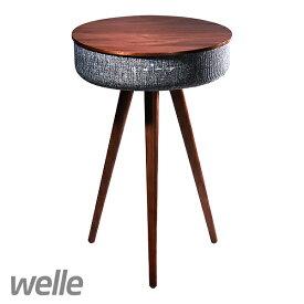 メロウスピーカー『welle Mellow Bluetooth Speker Table』 Welle Mellow Bluetoothテーブルスピーカー/welle Mellow Bluetooth スピーカーテーブル ブルートゥース スピーカー bluetooth スピーカー/bluetoothスピーカー【国内発送】