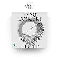 東方神起(TVXQ)-『TVXQ!CONCERT-CIRCLE-#WELCOMEDVD』[スペシャルカラーフォトブック+初回フォトカード4種]【国内発送】