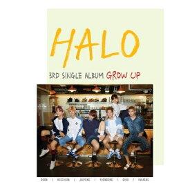 【ポスター終了】 HALO - GROW UP [3RD SINGLE ALBUM] 【国内発送】