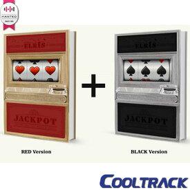 【初回ポスター2種】 ELRIS(エリス) - 『JACKPOT』RED+BLACK VER SET[レンチキュラーカード+フォトブック+トランプカードのセット外] 【国内発送】