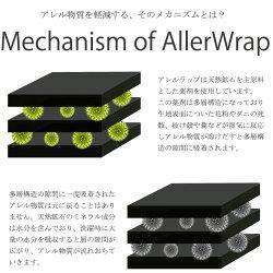 BlueBlood専用ピローカバーAllerWrapアレルラップ/枕カバー/枕パッド/ブルーブラッド/花粉/ダニアレル物質/清潔