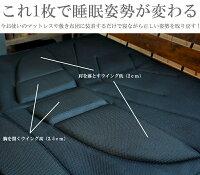 超立体3D敷きパッド6パックスZEN