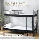 【★楽天ランキング1位★最安値に挑戦】パイプベッド 二段ベッド 子供ベッド子供部屋二段ベッド 2段ベッド 送料無料 …