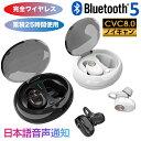 最先端Bluetooth5.0 完全ワイヤレスイヤホン ワイヤレスイヤホン 累積25時間駆動 IPX4防滴 日本語音声案内 日本語説明…
