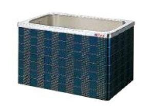 【最大44倍お買い物マラソン】クリナップ 浴槽 SXB-102AW(R・L) ブルー(B) マルチカラー・ステンレス浴槽 間口100cm 据置式2方全エプロン [♪△]