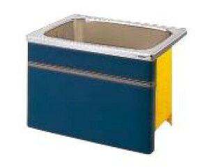 【最大44倍お買い物マラソン】クリナップ 浴槽 SEB-91AW(R・L) ブルー(B) NEWインテリアバス・ステンレス浴槽 間口90cm 据置式1方全エプロン [♪△]