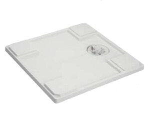 【最安値挑戦中!最大25倍】シナネン LSB-6464W 洗濯機防水パン ベストレイ 64マルチライトタイプ トラップタイプ:センター 透明トラップ付 ホワイト [■♪]
