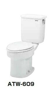 【最安値挑戦中!最大25倍】簡易水洗便器 ネポン ATW-606C プリティーナ レギュラーサイズ 普通便座 手洗栓なし オートフラッパー方式 ピンク 寒冷地向 [♪■] 【関東限定】