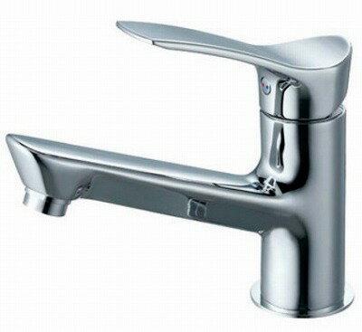 【最安値挑戦中!最大24倍】水栓金具 三栄水栓 K4712NJV-13 シングルワンホール洗面混合栓 [□]