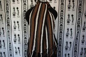 【アルパカマフラー】純毛100% ボリビアブランドSURI メンズ/レディース カジュアル/スーツ