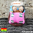 【愛を育む祈願】エケコ人形用ミニチュア 小物 ボリビア カップルベッド