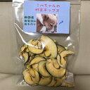 【送料無料】こぺちゃんの野菜チップス(かぼちゃ)100g【犬 おやつ 無添加 国産】
