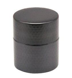 茶筒(小)銅 黒銅仕上げ 送料無料 COPPER100 新光金属 新光堂