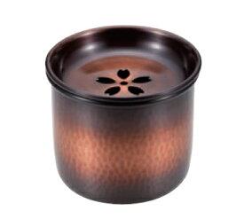 建水(小) 茶こぼし 銅 赤銅仕上げ 送料無料 COPPER100 新光金属 新光堂