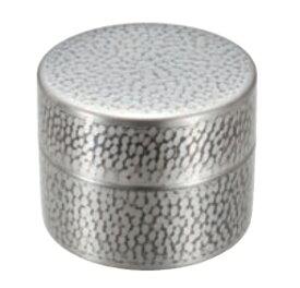 茶筒(中)銅 錫被仕上げ 送料無料 COPPER100 新光金属 新光堂
