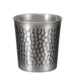 ぐい呑み 銅 鎚目ぐい呑み 錫被仕上げ 新光堂 COPPER100 新光金属