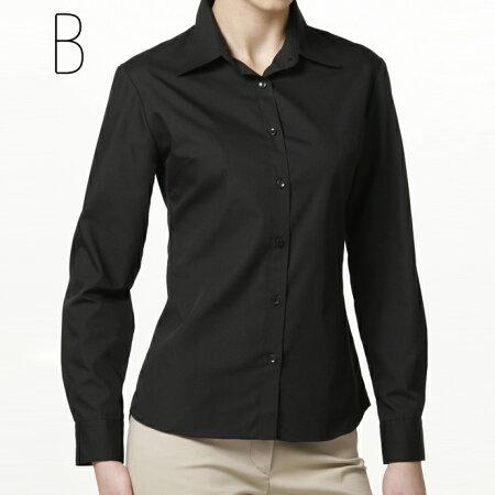 ベーシックシャツ長袖(定番カラー)