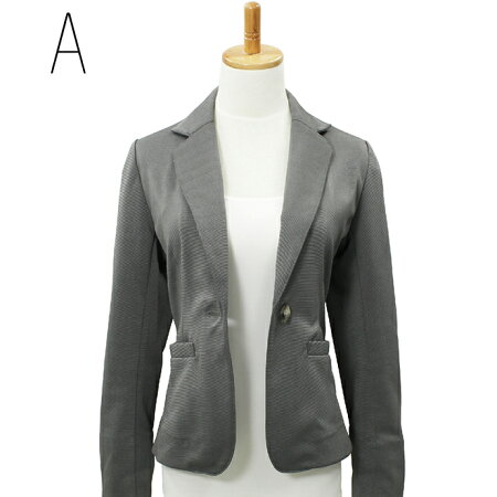 【コルレオニス】【新商品】テーラードジャケット【ブラック】(オフィス/スーツ/長袖/ニット/羽織りもの/洗えるジャケット)