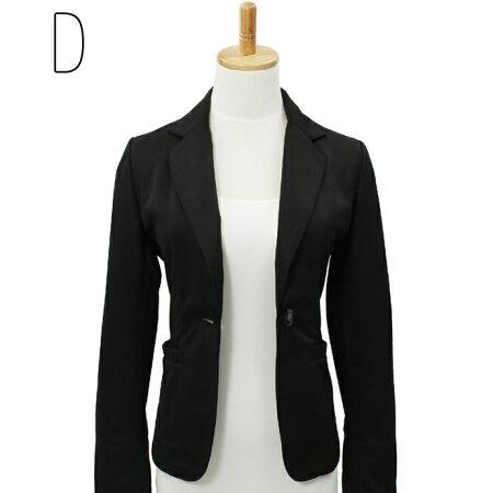 【コルレオニス】【新商品】テーラードジャケット【全4色】(オフィス/スーツ/長袖/ニット/羽織りもの/洗えるジャケット)