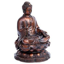 Felimoa 仏像 銅製 釈迦如来 釈迦如来像 置物 穏やか 金属製 ブロンズ像