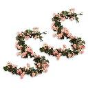 【送料無料】Felimoa 装飾用アレンジフラワー 造花 バラ 植物 イ...