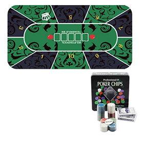 Felimoa テキサスホールデムポーカー テーブルクロス トランプ チップ ゲーム