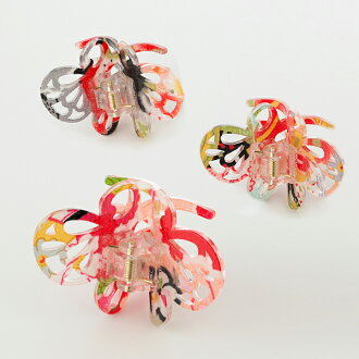 Vance clips Butterfly hairclip / Vance clips / Japanese pattern / flowers / kimono / hair / yukata / women / women's / summer / hair accessories