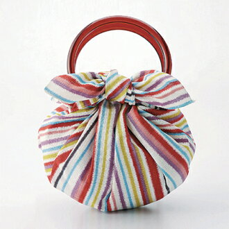 Son furoshiki bag beauty Strawberry bag with a ring girl Island / Island multi (70 cm) and furoshiki / back / Tote Bag / Strawberry Bag / Strawberry bag / gadgets / Japanese / Japanese Ryu
