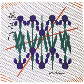 樹林花kakitsubata 100cm 3寬度/包袱皮/大型/大話/棉/包袱皮包/和睦雜貨/和睦/和睦花紋/kigi/kigi/draft