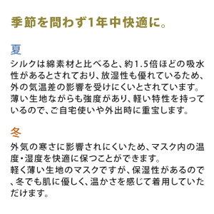 敏感肌シルクマスク日本製夏用接触冷感1枚大人洗える3D立体マスク布マスク外出用夏用マスク在庫ありシンプルコロナウイルス対策応援天然成分