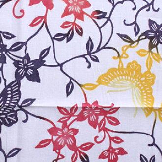 擦掉梨園染手(擦掉手巾/て),并且在テッセン是蝴蝶