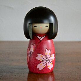 卯三郎こけし 花は桜(Cherry of flower) こけし/グッズ/群馬/インテリア/女子/かわいい/人気/ギフト/プレゼント/日本/卯三郎/KOKESHI/Japanese/Doll/Traditionl/コケシ/人形/伝統/和/和雑貨