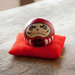 卯三郎こけし幸福だるま赤(HappinessDarumadollRed)KOKESHI/Japanese/Doll/Traditionl/こけし/コケシ/日本/人形/伝統/和/和雑貨【敬老の日】【10P03Sep16】